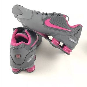 3be2cf11fc20 Nike Shoes - Nike Shox GS Running Basketball Shoes Gray Pink